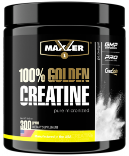 Maxler 100% Golden Creatine банка (300 г)