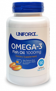 UNIFORCE Omega 3 1000 mg (90 кап)